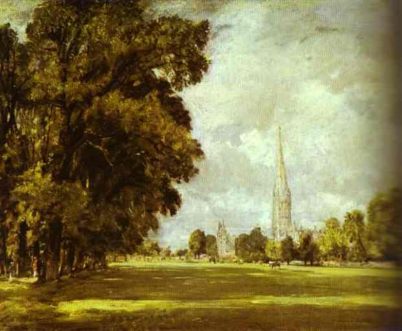 1825_A View of Salisbury Cathedral